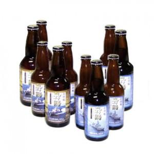舞鶴ビール10本入りセット(あぶくま5本・はやぶさ5本)